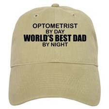 World's Best Dad - Optometrist Baseball Cap