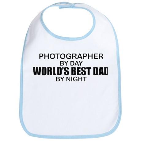 World's Best Dad - Photographer Bib