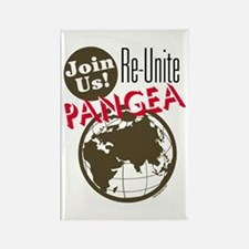 Re-Unite Pangea Rectangle Magnet