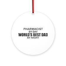 World's Best Dad - Pharmacist Ornament (Round)