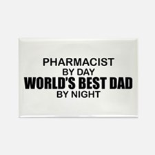 World's Best Dad - Pharmacist Rectangle Magnet