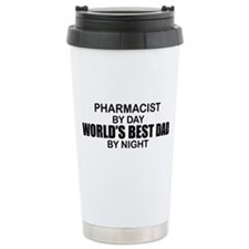 World's Best Dad - Pharmacist Travel Mug