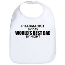 World's Best Dad - Pharmacist Bib