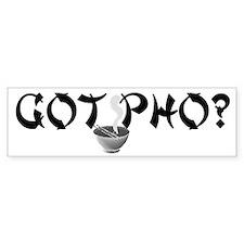 Got Pho? Bumper Bumper Sticker