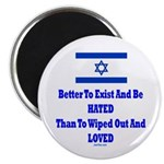 """Israel's Right To Exist 2.25"""" Magnet (10 pack"""