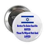"""Israel's Right To Exist 2.25"""" Button"""