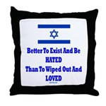 Israel's Right To Exist Throw Pillow
