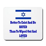 Israel's Right To Exist Mousepad