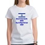 Israel's Right To Exist Women's T-Shirt