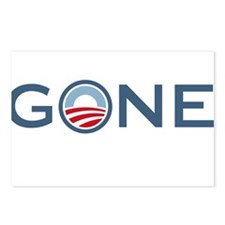 Obama is Gone Postcards (Package of 8)