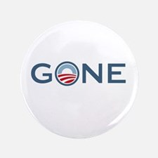 "Obama is Gone 3.5"" Button (100 pack)"