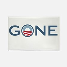 Obama is Gone Rectangle Magnet (100 pack)