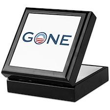 Obama is Gone Keepsake Box