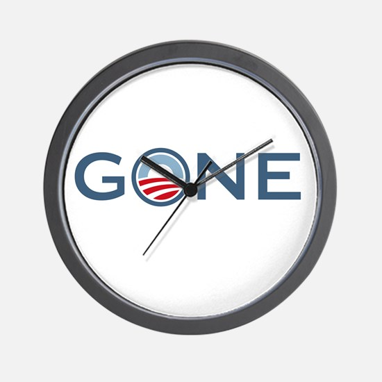 Obama is Gone Wall Clock