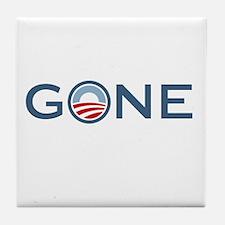 Obama is Gone Tile Coaster