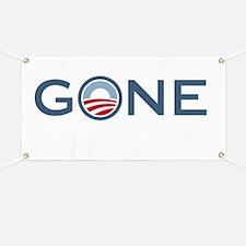 Obama is Gone Banner