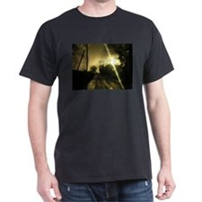 On Golden Lane Black T-Shirt