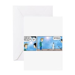Dad's an Oral Surgeon Greeting Card