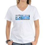 Dad's an Oral Surgeon Women's V-Neck T-Shirt
