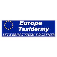 Stuff The EU with this Bumper Car Car Sticker