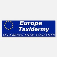 Stuff The EU with this Bumper Car Car Sticker