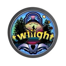 Twilight Magic Forest by Twibaby Wall Clock
