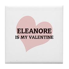 Eleanore Is My Valentine Tile Coaster