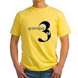 Grandpa shirts Mens Yellow T-shirts