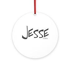 Jesse Ornament (Round)