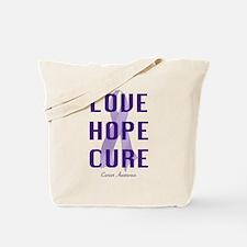 Cancer Awareness (lhc) Tote Bag