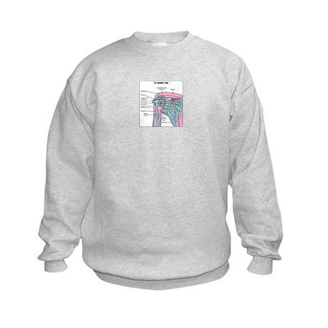 Shoulder Joint Kids Sweatshirt