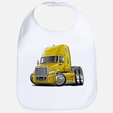 Freightliner Yellow Truck Bib