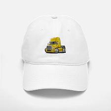 Freightliner Yellow Truck Baseball Baseball Cap