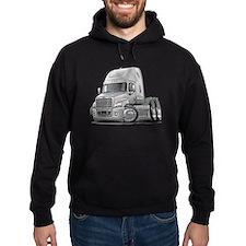 Freightliner White Truck Hoodie