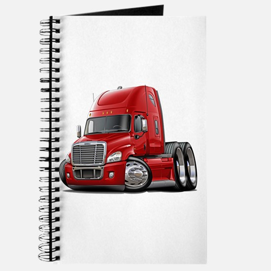 Freightliner Red Truck Journal