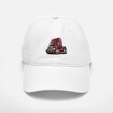 Freightliner Maroon Truck Baseball Baseball Cap