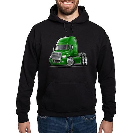 Freightliner Green Truck Hoodie (dark)