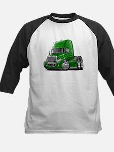 Freightliner Green Truck Kids Baseball Jersey