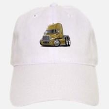 Freightliner Gold Truck Baseball Baseball Cap
