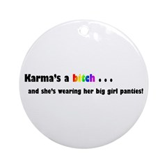 Karma Ornament (Round)