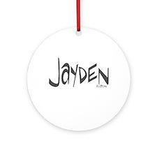 Jayden Ornament (Round)