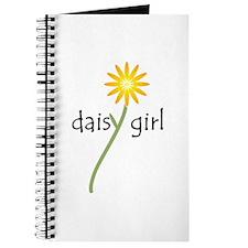 Yellow Daisy Girl Journal