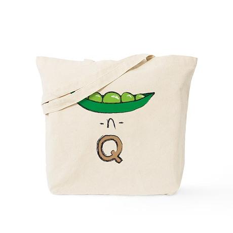 Peas-n-Tan Q Tote Bag
