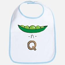 Peas-n-Tan Q Bib