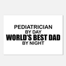 World's Best Dad - Pediatrician Postcards (Package