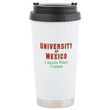 University of Mexico Lincoln Place Travel Mug