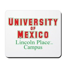 University of Mexico Lincoln Place Mousepad