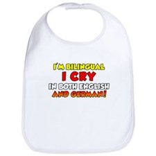 Bilingual Cry In English and Bib