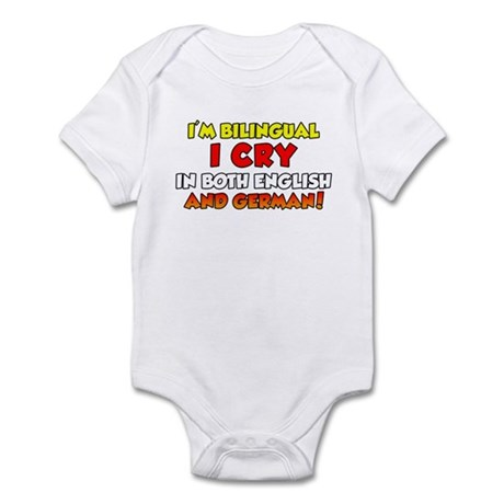 Bilingual Cry In English and Infant Bodysuit