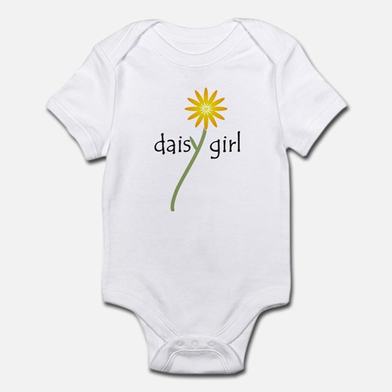 Yellow Daisy Girl Infant Bodysuit
